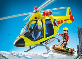 Playmobil - 5428 - Mountain Rescue Helicopter
