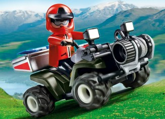 Playmobil - 5429 - Mountain Rescue Quad