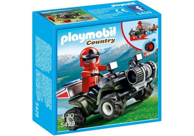 Playmobil 5429 - Mountain Rescue Quad - Box