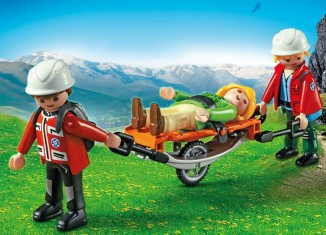 Playmobil - 5430 - Mountain Rescuers with Stretcher