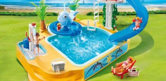 Playmobil - 5433 - Children's Pool with Whale Fountain