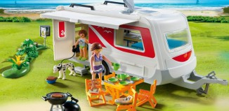 Playmobil - 5434 - Family Caravan