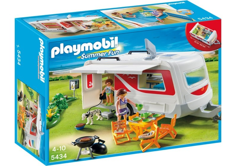 Playmobil 5434 - Family Caravan - Box