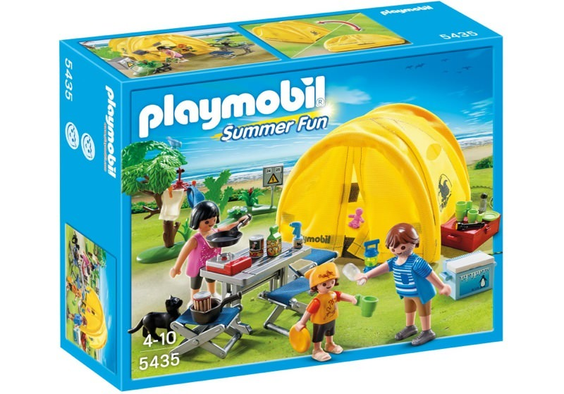 Playmobil 5435 - Family camping trip - Box