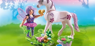 Playmobil - 5440 - Food Fairy with Unicorn 'Morning Dew'