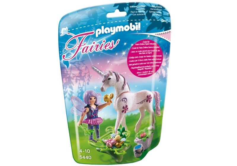 Playmobil 5440 - Food Fairy with Unicorn 'Morning Dew' - Box