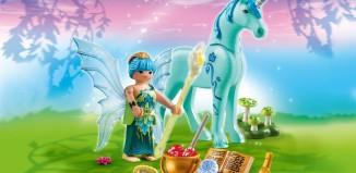Playmobil - 5441 - Healer Fairy with Unicorn 'Sapphire Night'