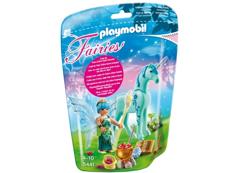 Playmobil 5441 - Healer Fairy with Unicorn 'Sapphire Night' - Box
