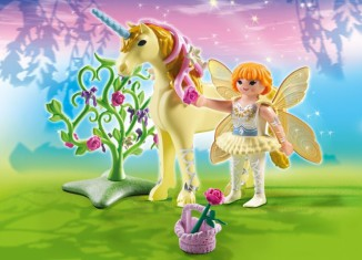 Playmobil - 5442 - Flower Fairy with Unicorn 'Sun Beam'