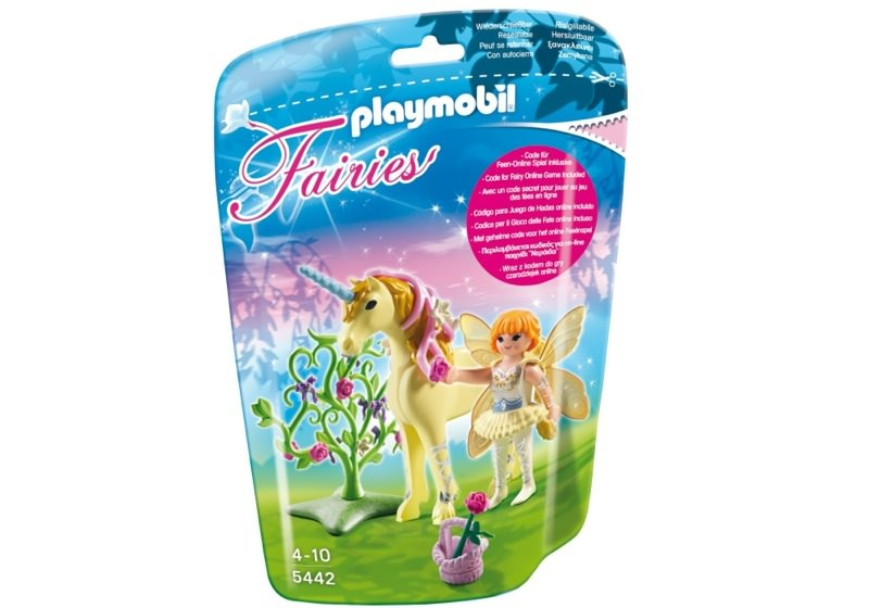 Playmobil 5442 - Flower Fairy with Unicorn 'Sun Beam' - Box