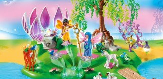 Playmobil - 5444 - Fairy Island with Jewel Fountain