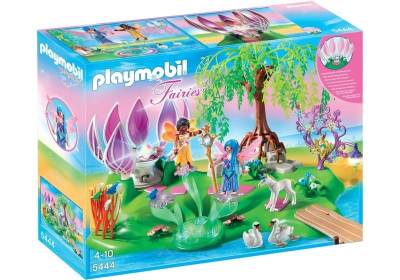 Playmobil 5444 - Fairy Island with Jewel Fountain - Box