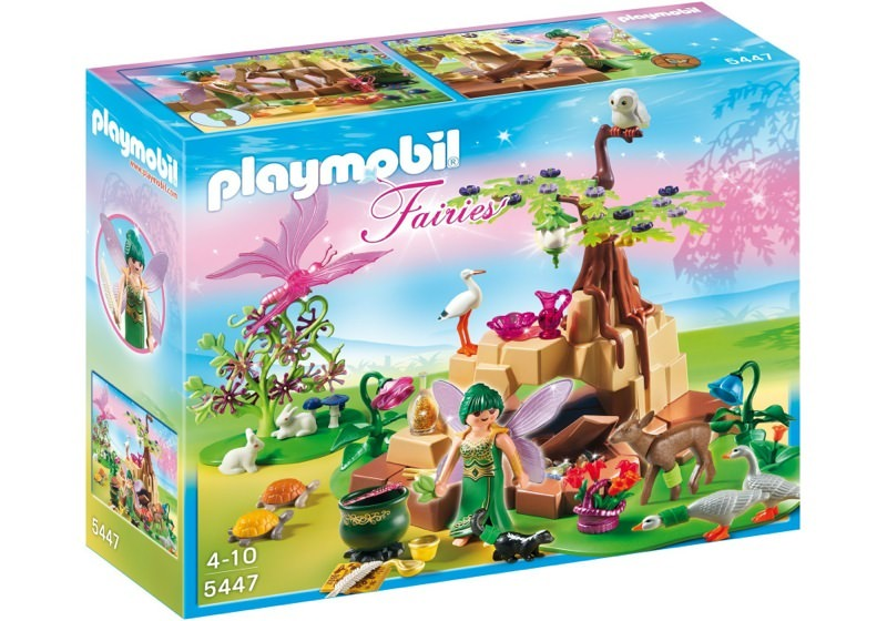 Playmobil 5447 - Healing Fairy Elixia in Animal Forest - Box