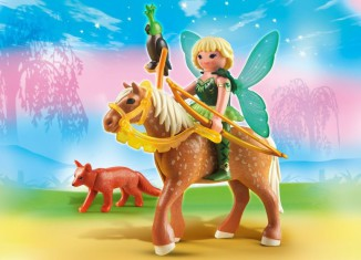 Playmobil - 5448 - Forest Fairy Diana with Horse