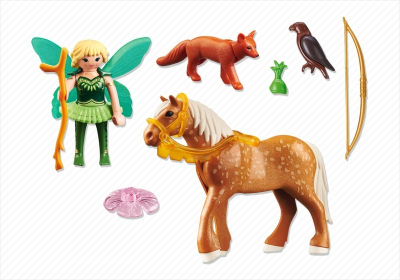 Playmobil 5448 - Forest Fairy Diana with Horse - Back