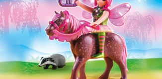 Playmobil - 5449 - Forest Fairy Surya with Horse