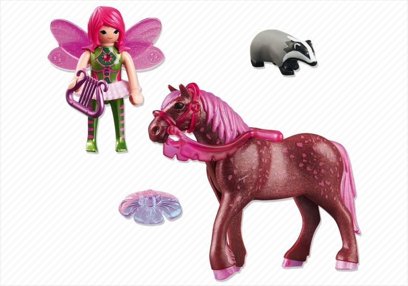 Playmobil 5449 - Forest Fairy Surya with Horse - Back