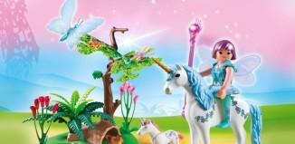 Playmobil - 5450 - Fairy Aquarella in the Unicorn Meadow