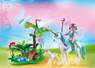 Playmobil - 5450 - Fairy Aquarella in the Unicorn Meadow