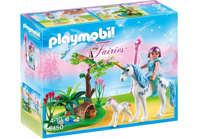 Playmobil 5450 - Fairy Aquarella in the Unicorn Meadow - Box