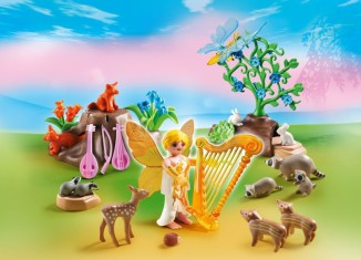 Playmobil - 5451 - Music Fairy with Woodland Animals