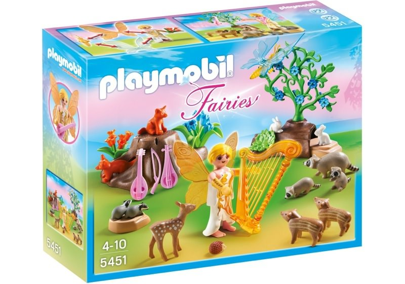 Playmobil 5451 - Music Fairy with Woodland Animals - Box
