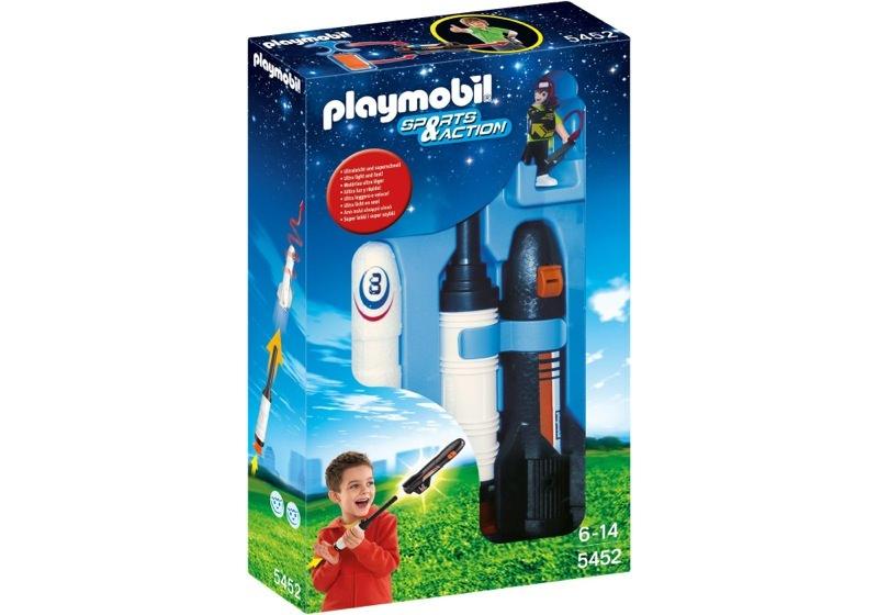 Playmobil 5452 - Power Rockete - Box