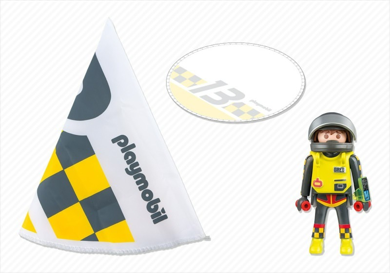 Playmobil 5454 - Fallschirmspringer #2 - Back