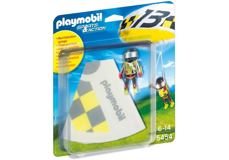 Playmobil 5454 - Fallschirmspringer #2 - Box