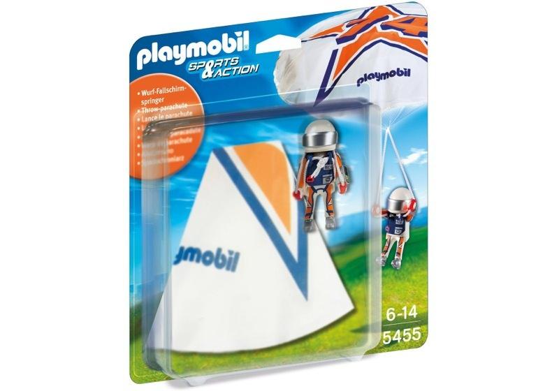 Playmobil 5455 - Fallschirmspringer Rick - Box