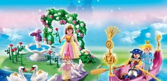 Playmobil - 5456 - 40th Anniversary Princess Island and Romantic Gondola