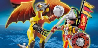 Playmobil - 5462 - Stone Dragon with Warrior