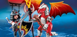 Playmobil - 5463 - Fire Dragon with Warrior