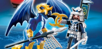 Playmobil - 5464 - Ice Dragon with Warrior