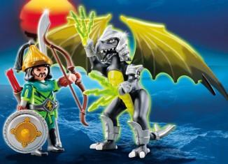 Playmobil - 5465 - Lightning Dragon with Warrior