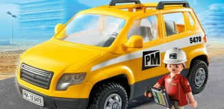 Playmobil - 5470 - Site Supervisor`s Vehicle