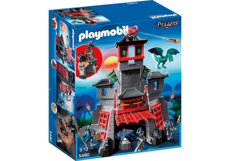 Playmobil 5480 - Secret Dragon Fort - Box