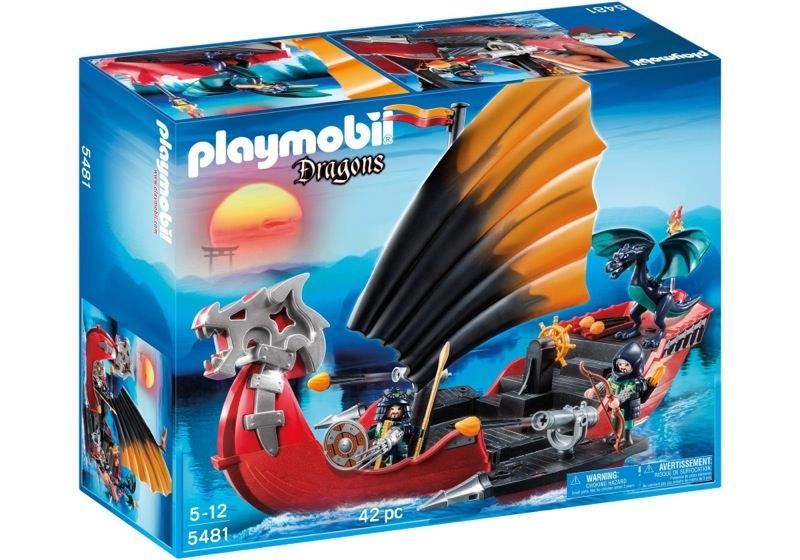Playmobil 5481 - Drachen-Kampfschiff - Box