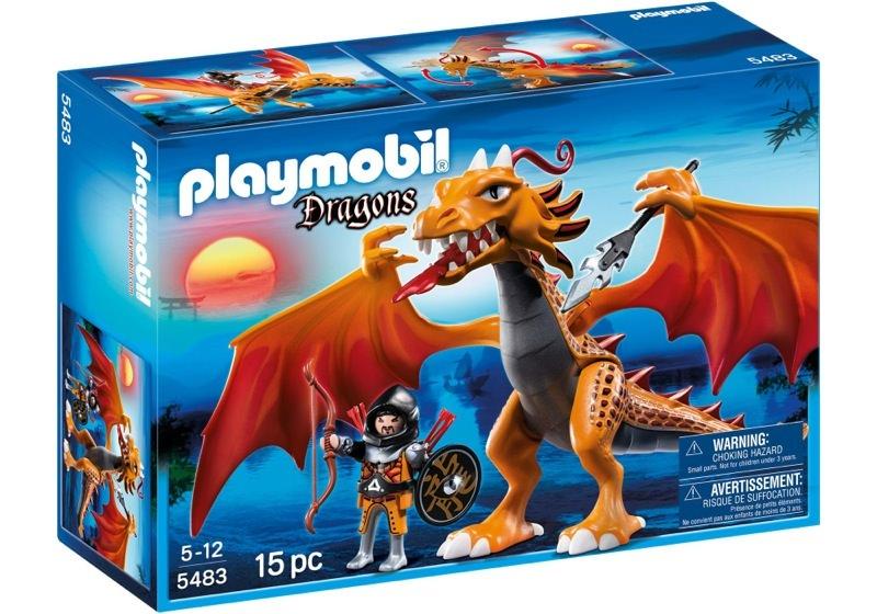 Playmobil 5483 - Fire dragon - Box