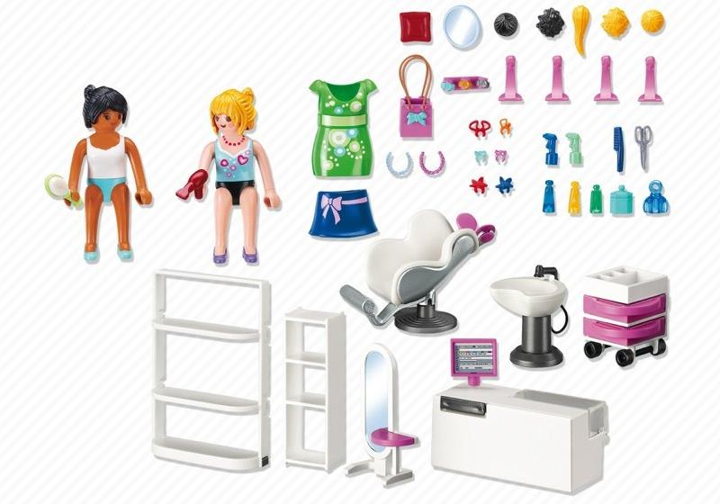 Playmobil set 5487 beauty salon klickypedia for Salon playmobil