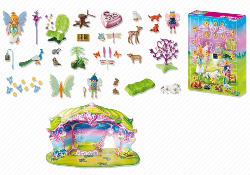 Playmobil 5492 - Unicorn Fairyland - Back