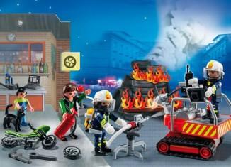 Playmobil - 5495 - Advent Calendar firestation with alarm