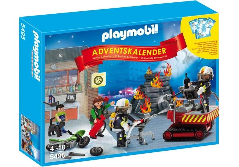 Playmobil 5495 - Advent Calendar firestation with alarm - Box