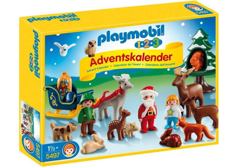 Playmobil 5497 - Advent Calendar Christmas in the Forest - Box