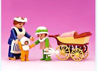 Playmobil - 5502 - Nanny & Children