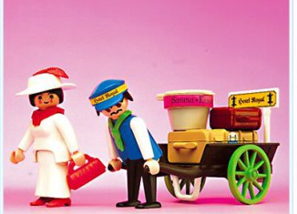 Playmobil - 5503 - Lady / Baggage Porter