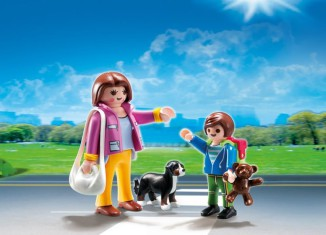 Playmobil - 5513 - Duo Pack Mom and Kid