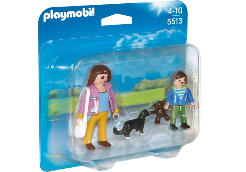 Playmobil 5513 - Duo Pack Mom and Kid - Box