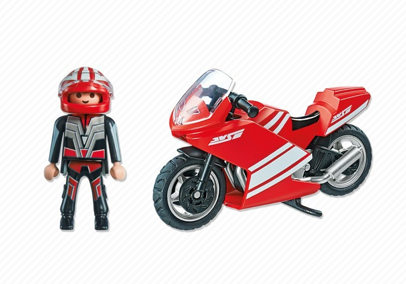 Playmobil 5522 - Superbike - Back