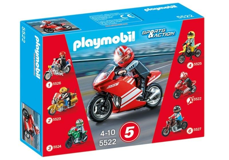Playmobil 5522 - Superbike - Box